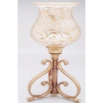 3 Leg Hurricane Candle Stand, 14 Inches