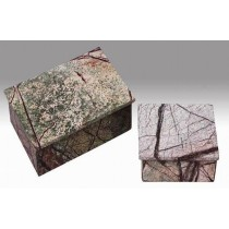 3 x 4 x 1.5 Size Green Forest Marble Box