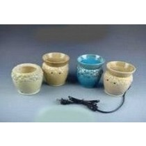 4 Colored  Ceramic Electric Wax Warmer With line(Set Of 4)