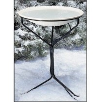 4 Season Heated Bird Bath- 20 Inch With Stand