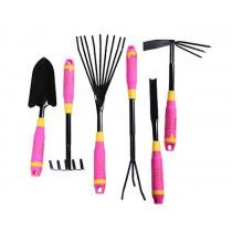 6 pcs Pink Garden Hand Tool