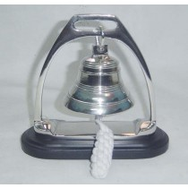 6 x 6 Inches Simple Aluminum Bell