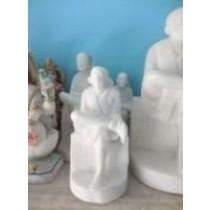 9'' Marble Sai Statue