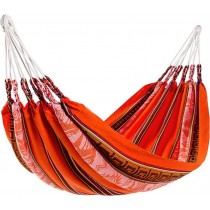 Acrylic Orange Striped Hammocks