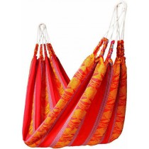 Acrylic Red Striped Hammocks