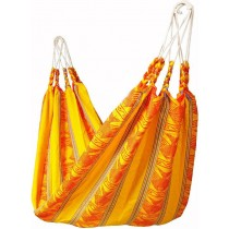 Acrylic Yellow Striped Hammocks
