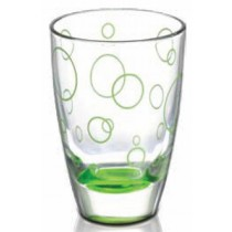 Alpi Round Green Glass