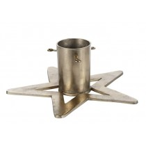 Aluminum Gold Finish Christmas Tree Stand