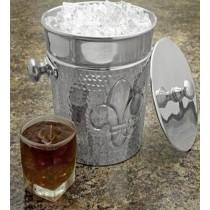 Aluminum  Shiny Polish Ice Bucket