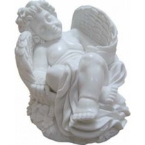 Angel with Sleeping Gesture Sculpture