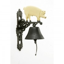 Animal Hand Painted Iron Garden Bell
