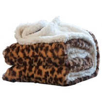 Animal Print 50 x 60 Inch Contemporary Style Throw