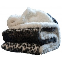 Animal Print Contemporary Style Throw