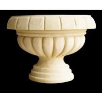 Antique Artificial Hand Carved Garden Flowerpot
