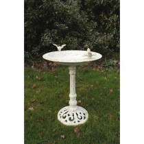Antique Cast Iron Durable Bird Bath