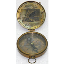 Antique Compass, 3.5 Inches