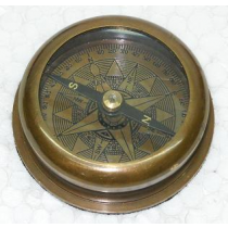 Antique Copper color  Compass, 2.5 Inches