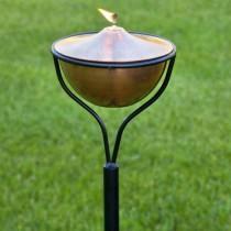 Antique Copper Finish Garden Tourch