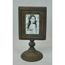 Antique Copper Yellow Finish Photo Frame