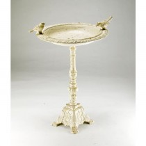 Antique Design Cast Iron Bird Bath