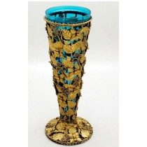 Antique Finish Flower Vases, 21 Inches
