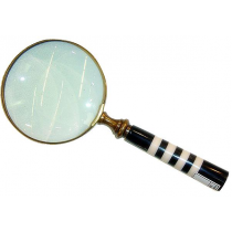 Antique Finish Magnifying Glass , 4 Inches