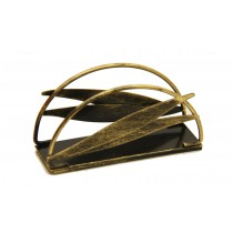 Antique Gold Wrought Iron Napkin Holder