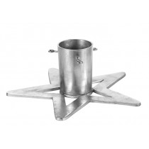 Antique Silver Aluminum Christmas Tree Stand