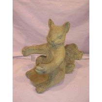Antique Squirrel Garden ornament