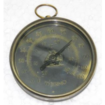 Antique Thermometer, 3 Inches