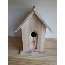 Antique Wooden Bird House
