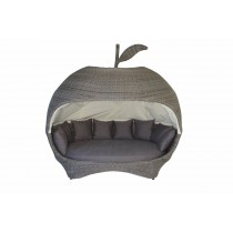 Apple Shape Rattan Daybed Set
