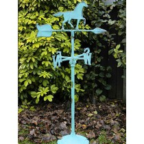 Aqua Finish Metal Weathervanes