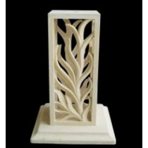 Artificial Decorative Carved Modern Style Pedestal