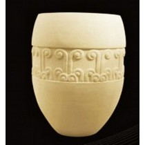Artificial Hand Carved Vase Style Sandstone Flowerpot