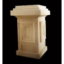 Artificial New Modern Style Layered Design Pedestal