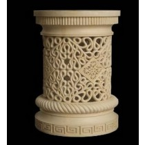 Artificial Sandstone Carved Design Pedestal(H 1250 X 800 mm)
