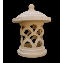 Artificial Sandstone Carved Modern Garden Lamp