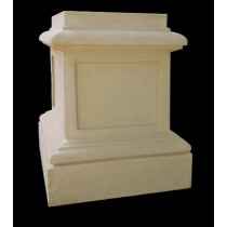 Artificial Sandstone Classical Style Pedestal