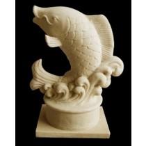 Artificial Sandstone Decorative Fish Unique Fountain
