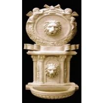 Artificial Sandstone Decorative Lion Face Unique Fountain