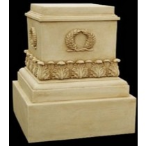 Artificial Sandstone Decorative Modern Style Pedestal