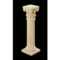 Artificial Sandstone Decorative Pillar Pedestal
