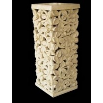 Artificial Sandstone Elegant Design Small Pedestal