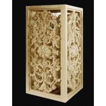 Artificial Sandstone Floral Work Pedestal