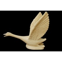 Artificial Sandstone Flying Swan Bird Water Fountain