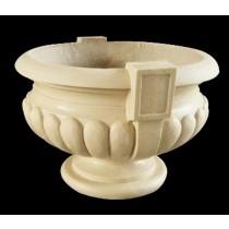 Artificial Sandstone Antique Shape Hand Carved Flowerpot