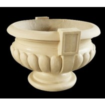 Artificial Sandstone Hand Carved Flowerpot