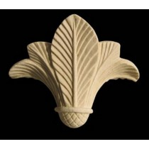 Artificial Sandstone Hand Carved Leaf Wall Lamp