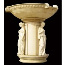 Artificial Sandstone Lady Statue Water Fountain(H 2600 X 2200 mm)